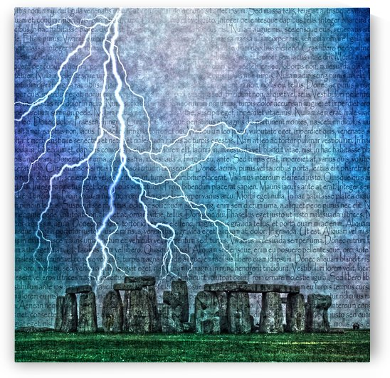 Ancient Temple Stonehenge by Bruce Rolff