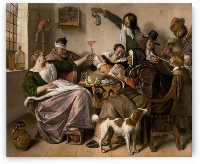 The way you hear it by Jan Steen