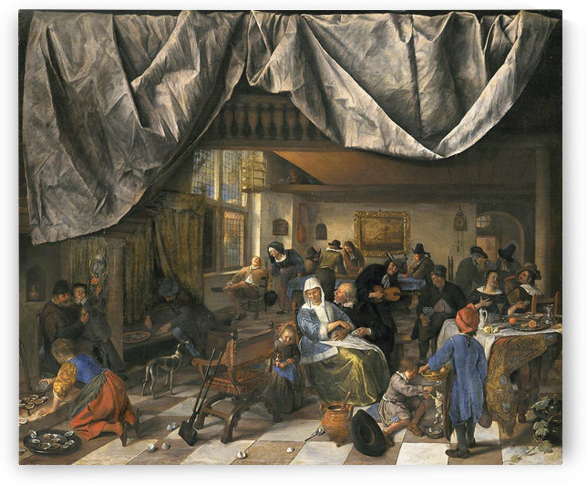 The Life of Man by Jan Steen