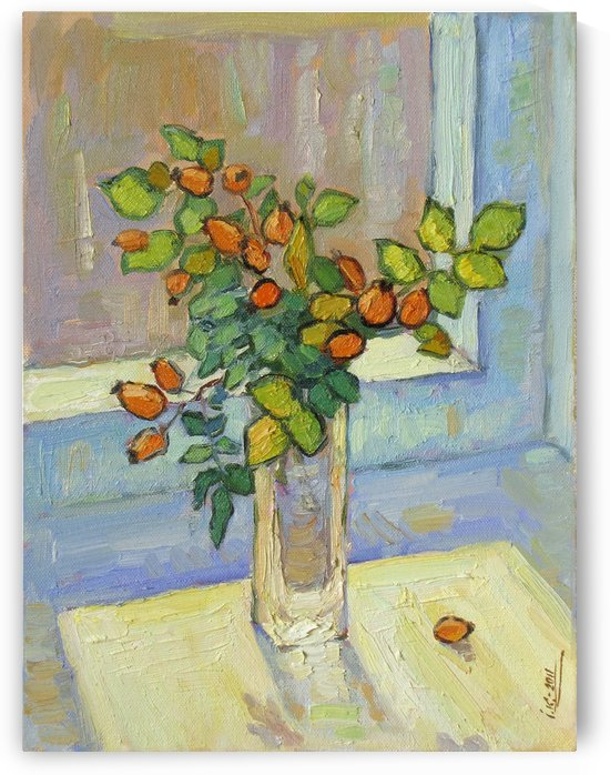 Brier on the Windowsill by Ivan Kolisnyk