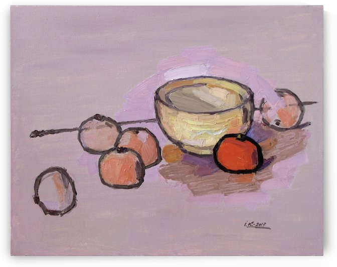 Tangerines by Ivan Kolisnyk