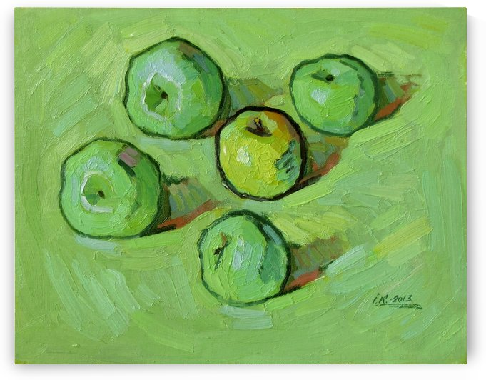 Green Apples by Ivan Kolisnyk
