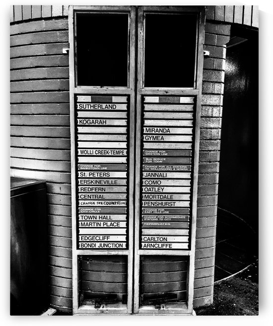 Train Station | Sydney | Australia by Oz Photography