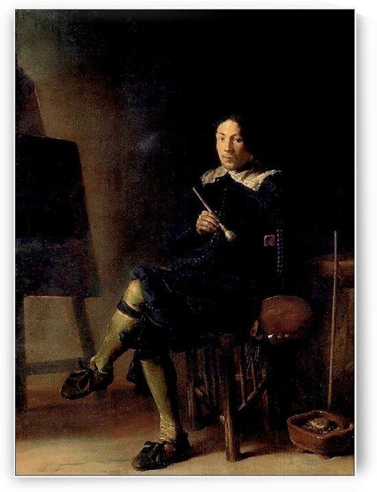 Autoportrait by Jean-Baptiste-Camille Corot