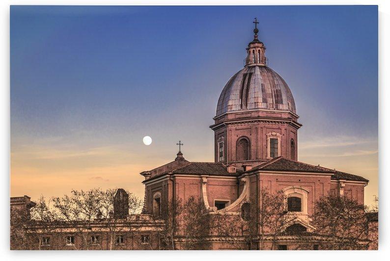 San Giovanni Battista dei Fiorentini Church, Rome, Italy by Daniel Ferreia Leites Ciccarino