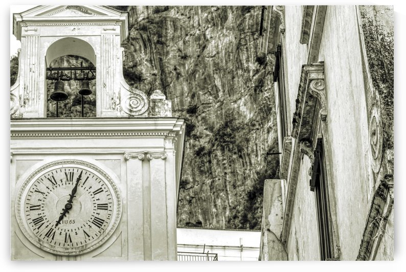 Ancient Church Clock by Alessandro Ricardo Bentivoglio Uva