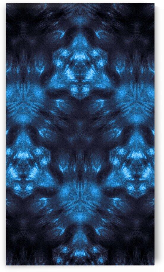 Blue Kaleidoscope by Jeremy Lyman