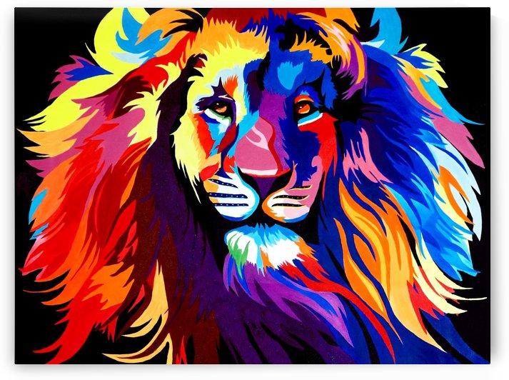 Lion Rainbow by Yurovich Gallery