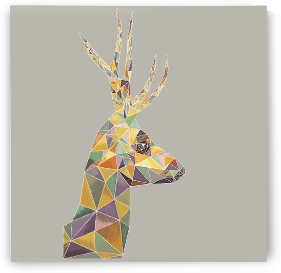 Deer mosaic by Yurovich Gallery