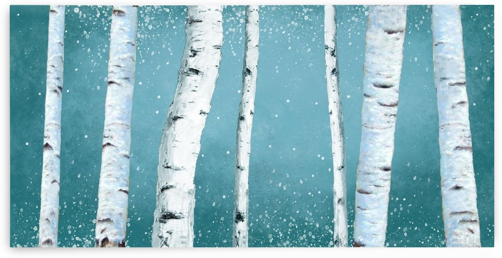 birch tree by Yurovich Gallery