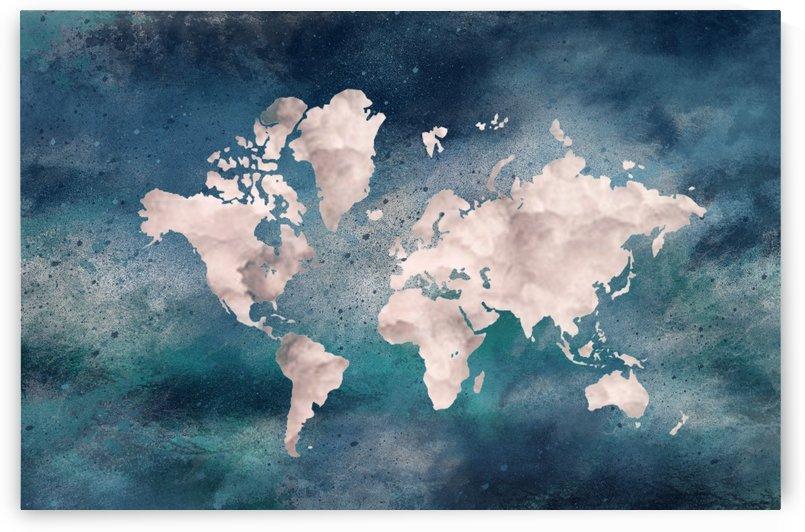 Map Green by Yurovich Gallery