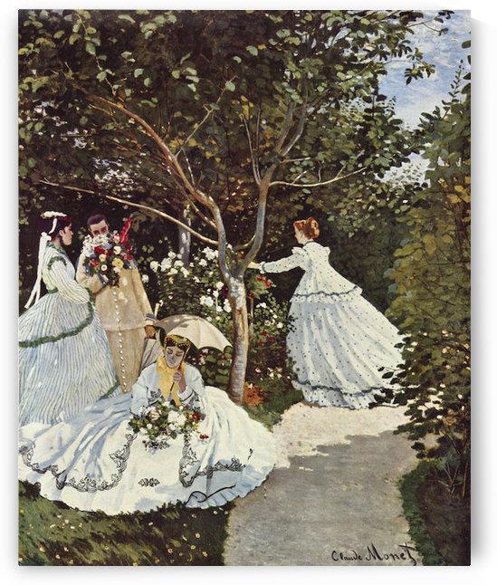 Women in the Garden by Monet by Monet