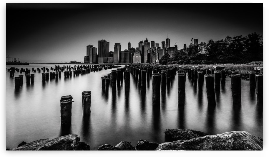 Big Apple in Noir by Jackson Carvalho