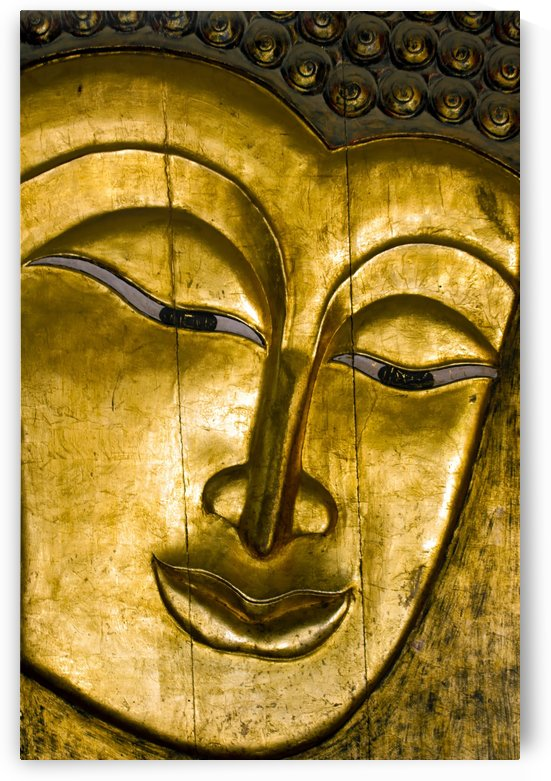 Golden Buddha by Kirsten Warner