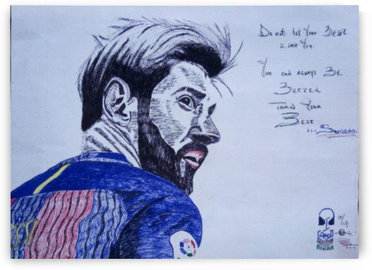 Lionel Messi  by Sundad