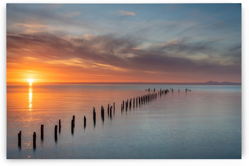 Sunset Pier by Grant Cookson