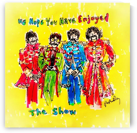 The Beatles - Enjoyed The Show by Gerri Findley