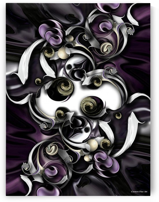 Space Or Expression by Carmen Fine Art