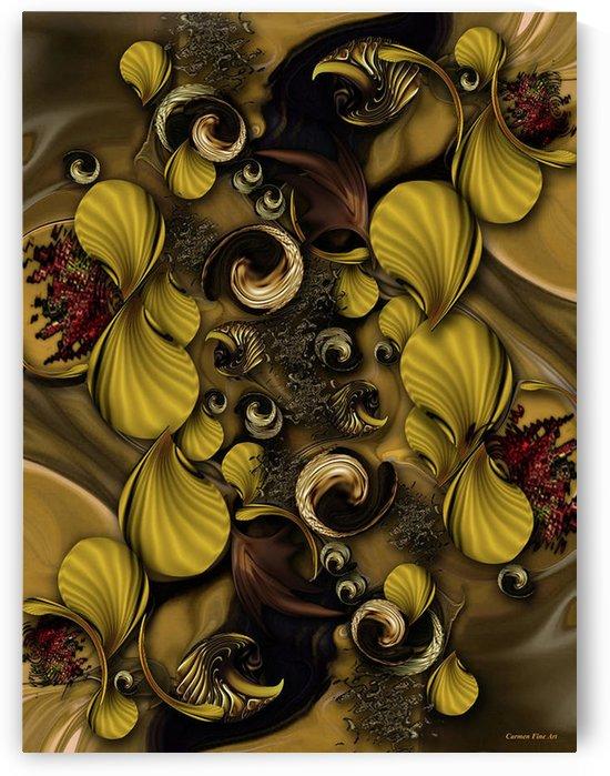 The Framed Poetry by Carmen Fine Art
