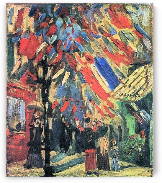 14 July in Paris by Van Gogh by Van Gogh