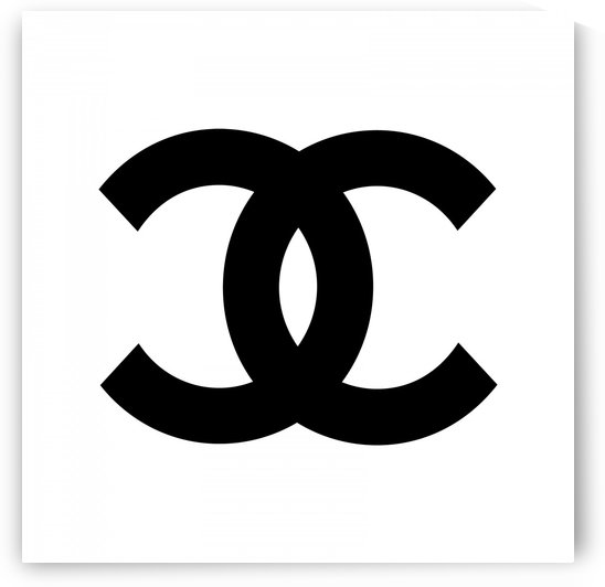 Chanel Symbol White Black by Edit Voros