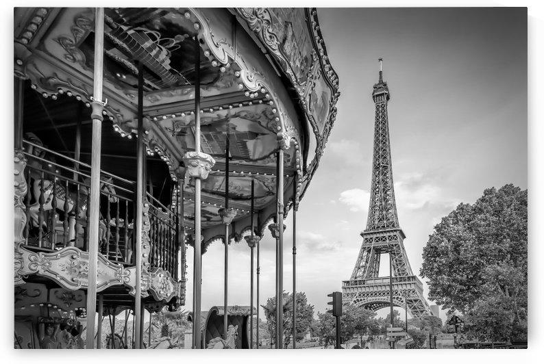 Typical Paris | monochrome by Melanie Viola