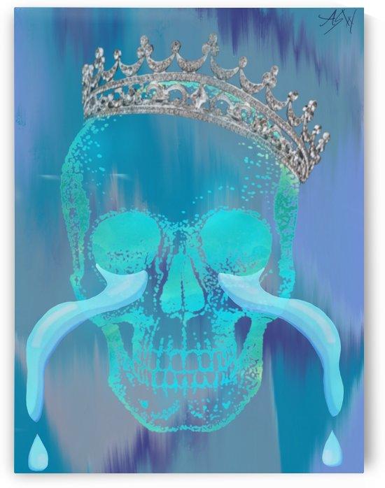 Spoiled Skull by WhiteOut Artwork