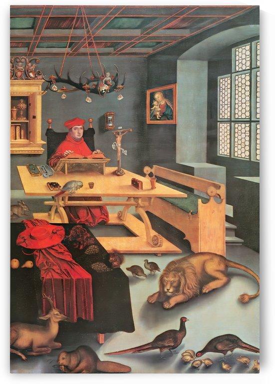 Cranach Brandenburgas Jerome by Lucas Cranach the Elder