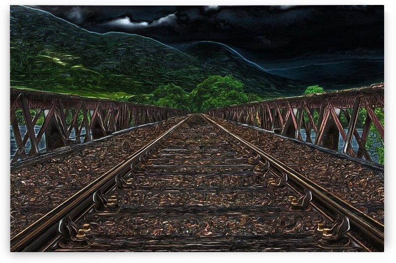 Railway 1 Dark by One Simple Gallery