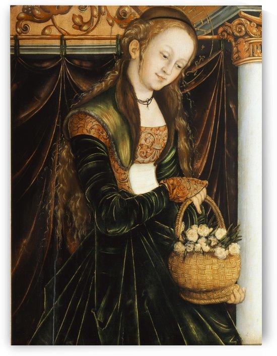 Die Heilige Dorothea by Lucas Cranach the Elder