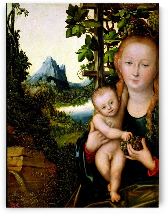 Madonna mit Kind by Lucas Cranach the Elder