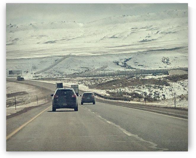 White Wyoming by Lauren M Fisher