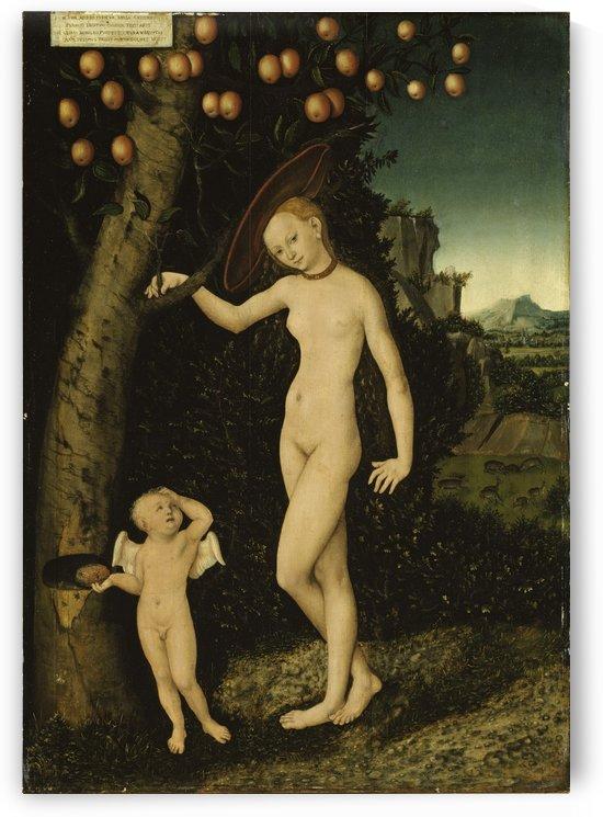 Venus mit Amor als Honigdieb by Lucas Cranach the Elder