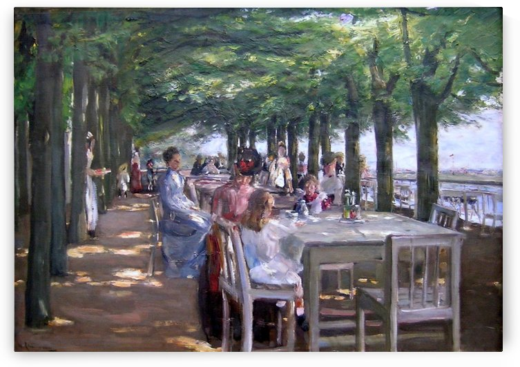Restaurant Jacob by Max Liebermann