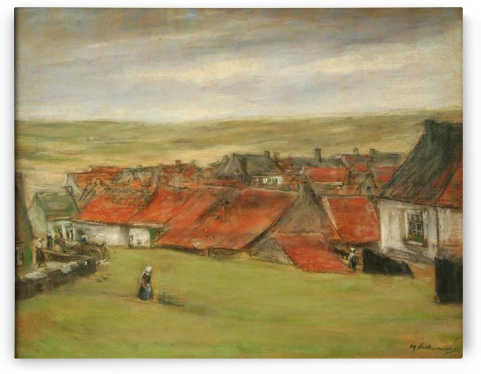 Hollandisches Dorf by Max Liebermann
