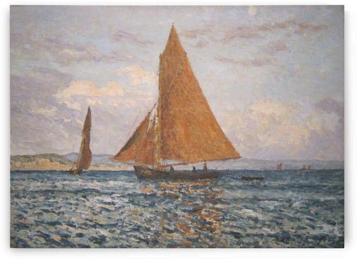 Bay of Douarnenez by Maxime Maufra