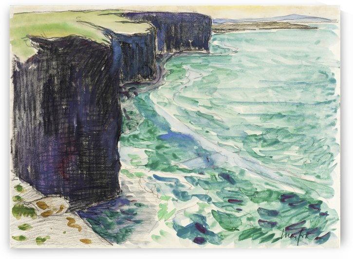 The Cliffs by Maxime Maufra