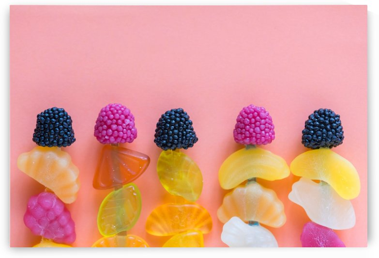 Assorted color Fruit Decors by Azlan