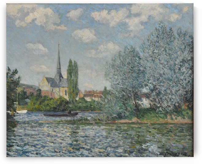 Church of Petit-Andelys by Maxime Maufra