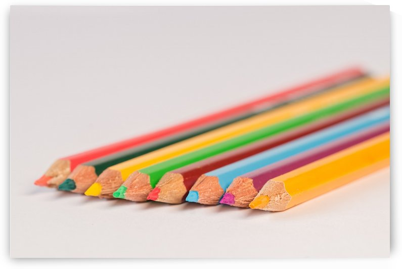 Assorted colored Pencils by Azlan