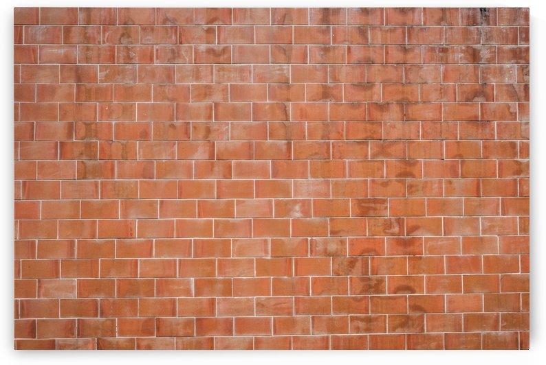 Brown Concrete Brick Wall by Azlan