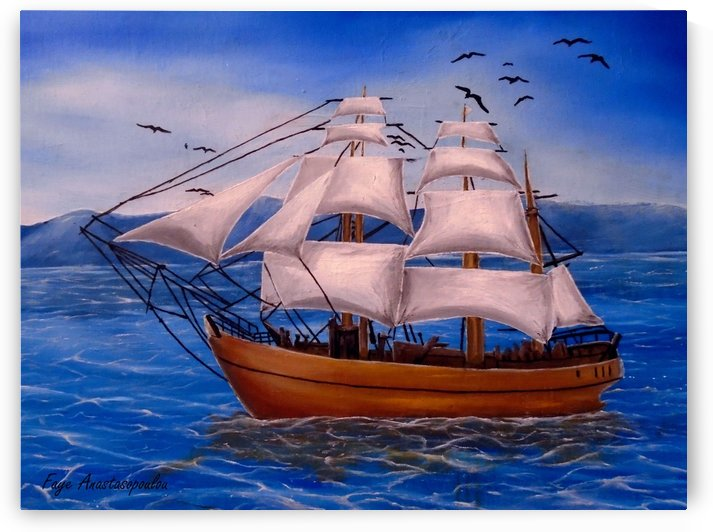 Voyage by Fotini Anastasopoulou