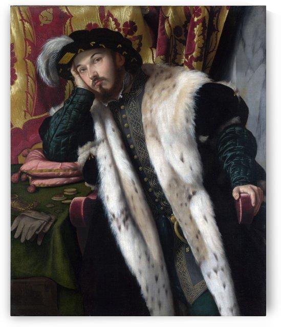 Portrait of Count Fortunato Martinengo Cesaresco by Moretto da Brescia