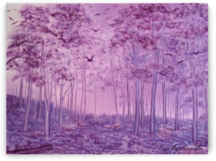Purple Woods by Fotini Anastasopoulou