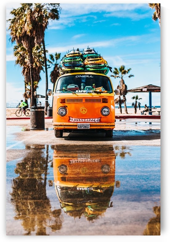 Retro Hippie Van by GorgeousWorld_Store
