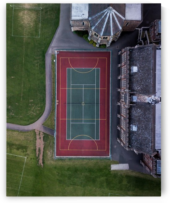 Tennis Court England   From Top by GorgeousWorld_Store