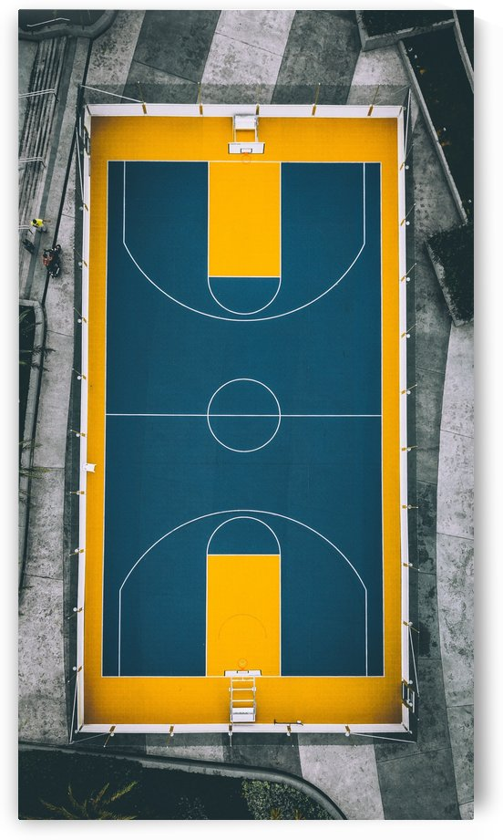 Tennis Court from top by GorgeousWorld_Store