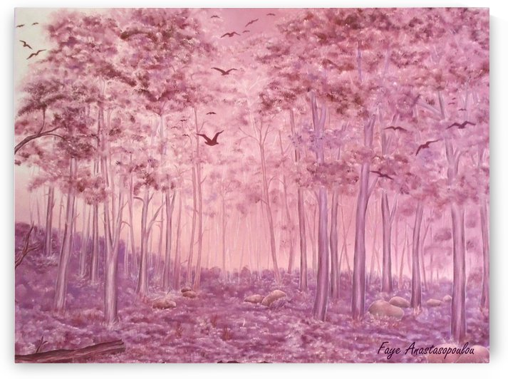 Pink Woods by Faye Anastasopoulou