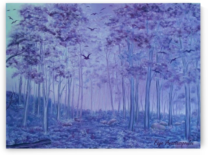 Lavender Woods by Faye Anastasopoulou