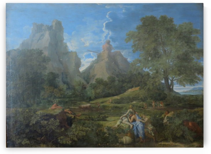 Landscape with Polyphemus by Nicolas Poussin